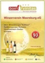 2012 Spaetburgunder Rotwein
