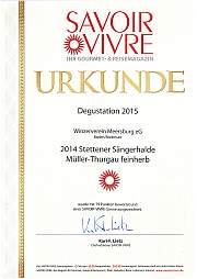 Müller-Thurgau feinherb