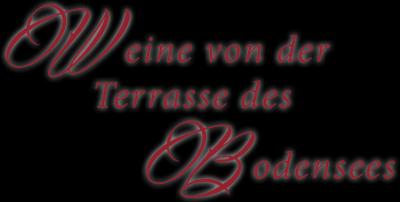 Wein vom Balkon des Bodensees