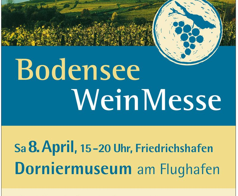 Bodensee Weinmesse 2017 in Friedrichshafen, Dornier-Museum