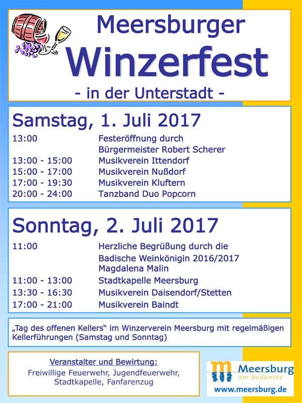 Meersburger Winzerfest 2017