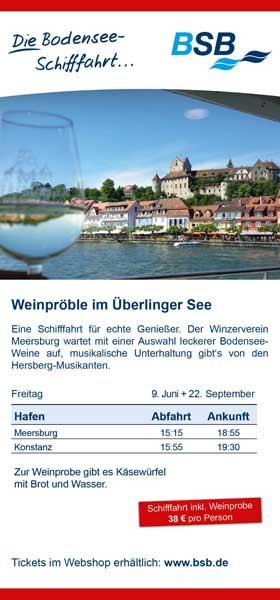 Winzerverein Meersburg BSB Weinpröble im Überlinger See